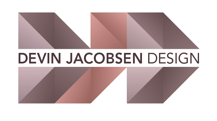 The logo of Devin Jacobsen Design
